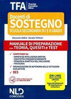 Tfa sostegno 2020 scuola secondaria1-2 grado manuale teoria quesiti e test