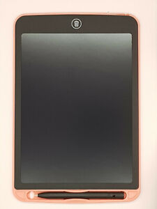 """Pink 10"""" LCD Writing Tablet with Pen Kids Child Drawing Board Art Craft"""