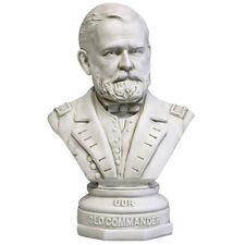 "Ulysses Grant US General President bust 18"" Sculpture Replica Reproduction"