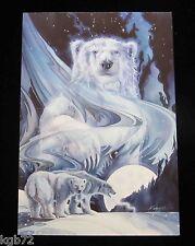 Leanin Tree Christmas Greeting Card Bear Nature Multi Color C57