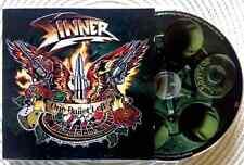 SINNER / ONE BULLET LEFT - CD (printed in Germany 2011) MINT/MINT