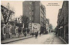 CPA 92 - BOIS COLOMBES (Hauts de Seine) - Rue des Bourguignons - Ed. Boucher