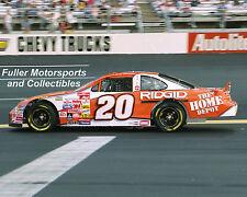TONY STEWART 1999 ROOKIE WIN AT RICHMOND #20 NASCAR 8X10 PHOTO WINSTON CUP