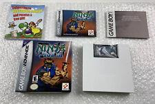 Ninja Five-O (Nintendo Game Boy Advance, 2003) Complete w Box & Manual Authentic
