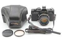 【ECX+4】Minolta SRT101 black body + MC ROKKOR PF 58mm f/1.4 from Japan #M34
