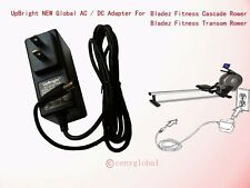 Global AC Power Adapter for Bladez Fitness Cascade Transom Rower Rowing Machine