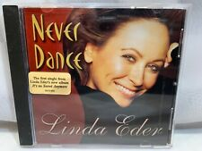 LINDA EDER Never Dance CD (PROMO Single)