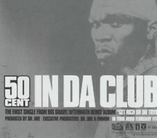50 Cent: In Da Club PROMO MUSIC AUDIO CD 2 track Clean Instrumental INTR-10898-2