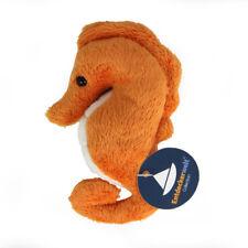 Stofftier Mini Seepferdchen orange, Plüschtier, Kuscheltier (Höhe ca. 12,5 cm)
