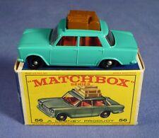 MATCHBOX 56 Fiat 1500 NMIB BPW OVP Regular Wheels 60's boxed A173