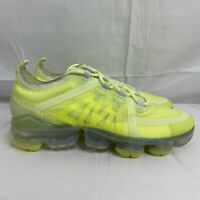 Nike Air Vapormax 2019 AR6632-700 Women Running Shoes Volt Spruce Size 8 Sample