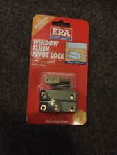 ERA Flush Pivot Wooden Window Lock Hinged Security Casement Brass 902-32 Screws