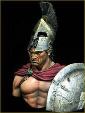 YOUNG Miniatures Spartan a TERMOPILI yh1824 1 / 10th BUSTO KIT non verniciata