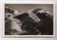 PHOTO ANCIENNE Glacier du Rhône canton du Valais en Suisse Vers 1940 Alpes