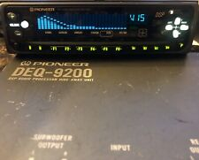 Pioneer DEQ-9200 DSP Audio Processor Please Read Description