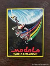 MODOLO BRAKES tool box shop sticker world champion vintage style campagnolo era