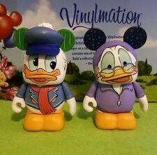 Disney Vinylmation Park Set Christmas Carol Lot Donald Duck Ebeneezer Scrooge