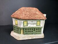 David Winter Cottages Vintage 1980 Very Early Piece ~ The Old Curiosity Shop ~