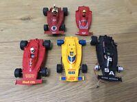 Scalextric Cars Ferrari 312 Mixed Job Lot Spares Or Repairs