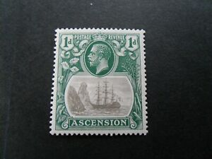 Ascension 1924  KGV  Mnh  1d- stamp as per pictures