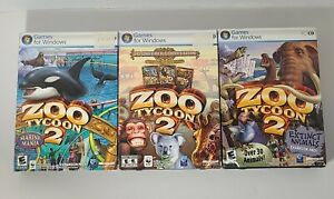 Zoo Tycoon 2: Zookeeper Collection PC + Marine & Extinct Animals Expansions