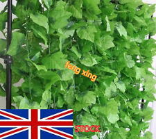 82 feet artificial grape vine faux leaf Ivy garland home decor wedding flower