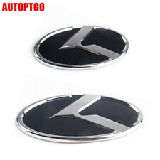 Silver Chrome 3D Metal TURBO Badge Sticker for Kia Procee/'d Cee/'d Carens Picanto