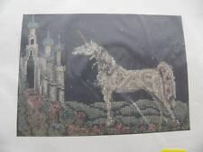 NEW Pegasus Originals Cross Stitch Kit K-645 Midnight Visit Unicorn Castle