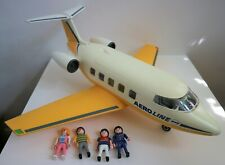 Playmobil 3185 Aero Line Aeroplane with Figurines Airport Jet