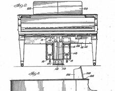 Upright / grand / automatic piano: Gulbransen  /Dickinson Co.: Hist. infos 1907-