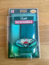 Pocket Travel Scrabble by Mattel Games - Magnetic - Hard Case