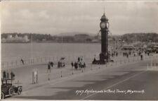 WEYMOUTH(Dorset) :Esplanade & Clock Tower RP-SWEETMAN