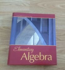 Elementary Algebra Custom Edition for Pasadena City College Textbook With DVD