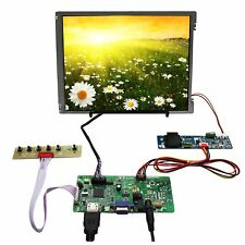 """10.4"""" G104SN03 1000nit 800X600 WLED LCD Screen and HD-MI VGA Audio Driver Board"""