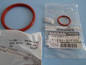 Nissan Pathfinder 3.5 2001-2004 & QX4 2001-2003 (Genuine) Oil Cooler Seal Set 2
