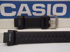 Casio Watch Band PRG-260,PRW-550,PRW-3500.ProTrek Triple Sensor Black Strap