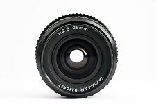 TAKUMAR BAYONET 28mm F2.8 PK EXCELLENT CONDITIONS