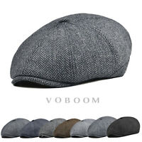 b06d65c966d83 Quality New 8 Panel Wool Blend Newsboy Gatsby Ivy Cap Golf Cabbie Hat LL111