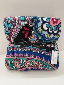 "Vera Bradley Plush Throw Blanket in Haymarket Paisley Oversized 80"" x 50"" NWT"