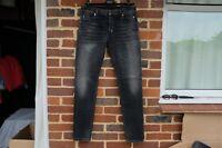 BALMAIN Black Skinny Stonewash Jeans | FW17 W36