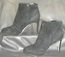 8af2b513b63 Via Spiga black suede zip up ankle boots booties Women s shoes size USA ...