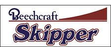A143 Beechcraft Skipper Airplane banner hangar garage decor Aircraft signs