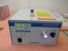 Working Hamamatsu UV lamp source Lightning Cure 200 L7212-01 w new L6722 lamp