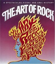 The Art of Rock Posters from Presley to Punk Book By Hardcover New