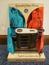 Ge General Electric Vintage Cordless Rechargeable Clothes Brush Model Vv2 Nos