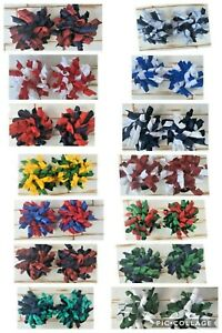 School Colours Korker Hair Ties 17 Colours Available
