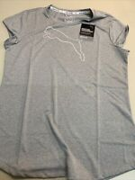 NWT: PUMA Speedcat Dry Cell Active Heather T-Shirt, Light Gray, Size XL