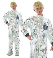 Childrens Kids Spaceman Fancy Dress Costume Astronaut Outfit Childs S