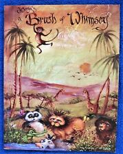 Brush of Whimsey Painting Pattern Book Jo Sonja Jansen Folk Art Rooster - Unused