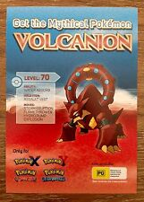 Volcanion Mythical Pokemon Level 70 Nintendo 3DS Expired Download Code Australia